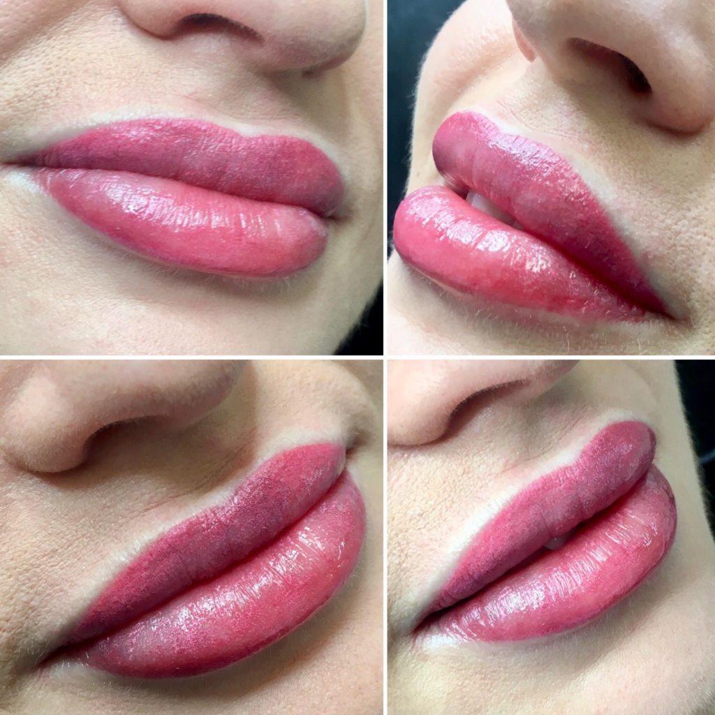 makijaż permanentny Oborniki ust piękne usta duże